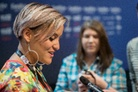 Eurovision-Song-Contest-20160502 Press-Conference-Sandhja-Finland 8245