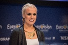 Eurovision-Song-Contest-20160503 Press-Conference-Greta-Salome-Iceland- 8445