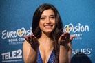 Eurovision-Song-Contest-20160503 Press-Conference-Samra-Azerbaijan 8410