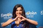Eurovision-Song-Contest-20160503 Press-Conference-Samra-Azerbaijan 8413