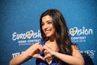 Eurovision-Song-Contest-20160503 Press-Conference-Samra-Azerbaijan 8416