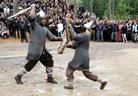 Kilkim Zaibu 20090613 historical warrior clubs fights25