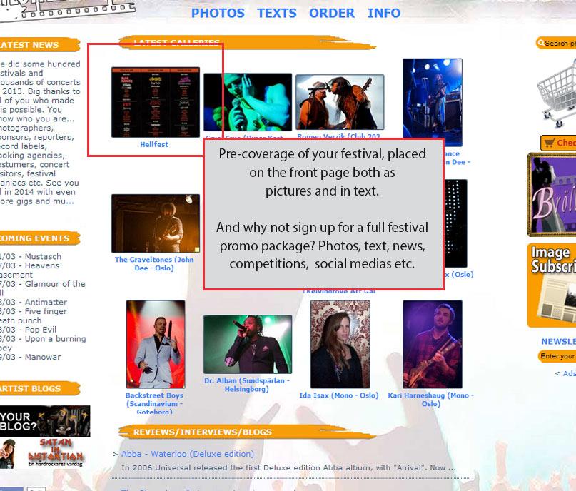 Sprid information om din festival