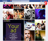 Advertise in our Facebook galleries