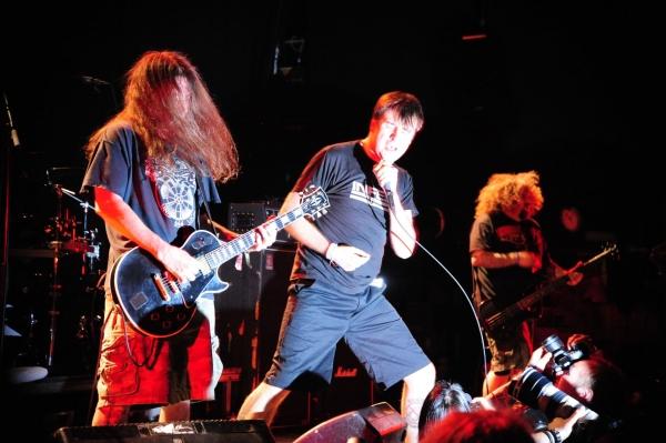Napalm Death live@Inferno festival 2011