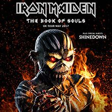 Iron Maiden 'The Book of Souls' Tour in London 27th and 28th May