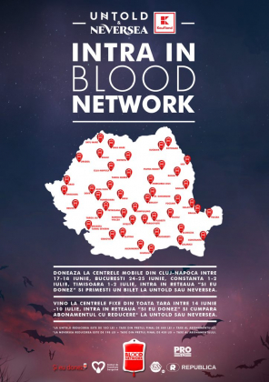 Blood donors get free entry to Romanian UNTOLD Festival