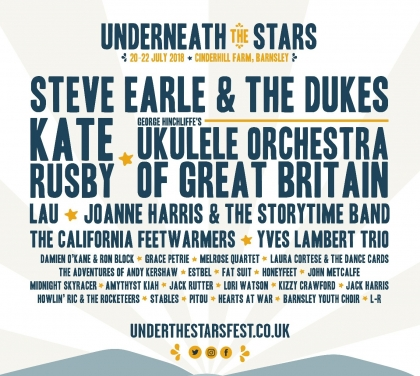 Underneath the stars announces full lineup