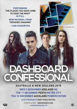 Dashboard Confessional Adelaide & Perth Good Things Festival Sideshows