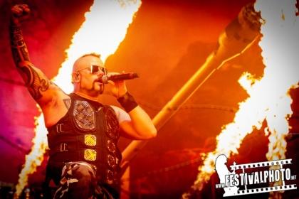 Sabaton (och Apocalyptica) på Hovet i Stockholm