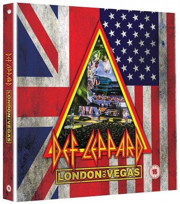 Def Leppard. London to Vegas dvd