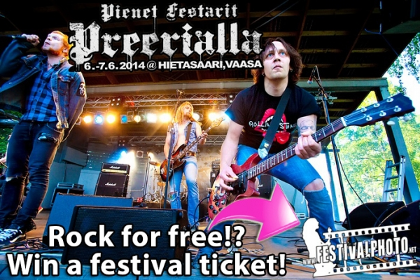 Win a ticket to Pienet Festarit Preerialla