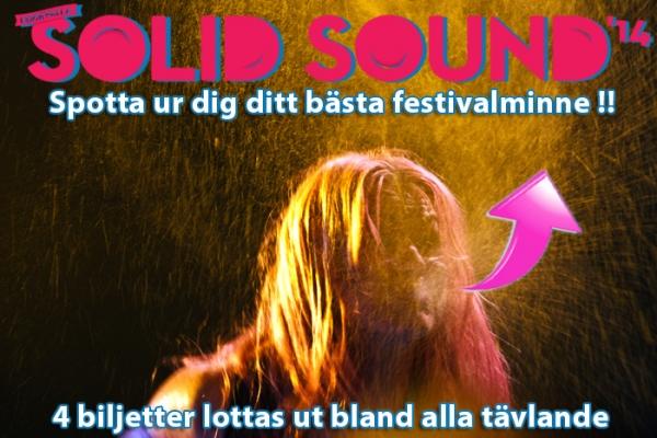 Vinn festivalbiljetter till Uddevalla Solid Sound!