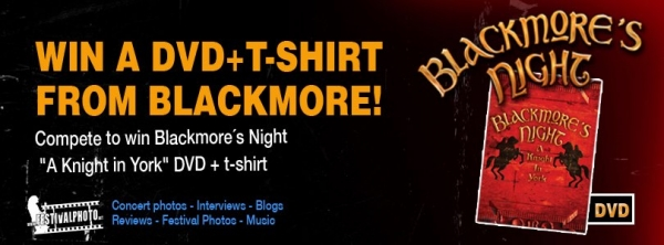 Win DVD and T-shirt from Blackmore´s Night
