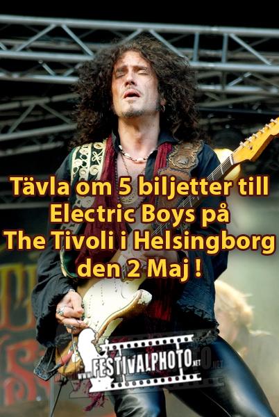 Vinn 5 biljetter till Electric Boys
