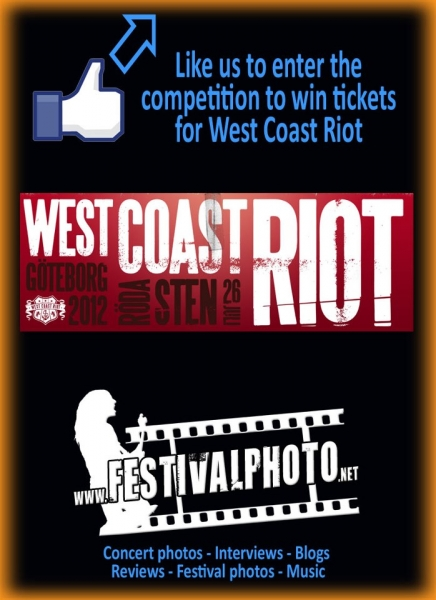 Win free entrance to West Coast Riot