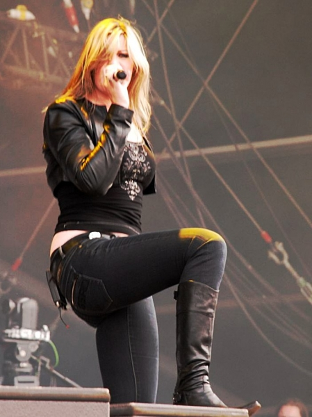 Doro Pesch, playing at GMM 2010