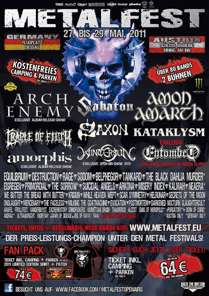 Flyer Metalfest